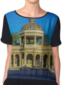 Soldiers Memorial - Bendigo, Victoria Chiffon Top