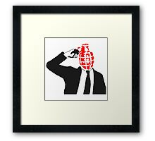 Pull The Pin - ONE:Print Framed Print