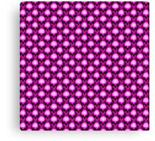 Too Many Pink Skulls Canvas Print