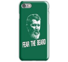 Roy Keane: Fear The Beard iPhone Case/Skin