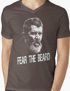 Roy Keane: Fear The Beard Mens V-Neck T-Shirt