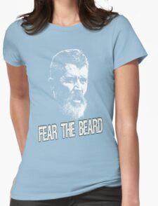 Roy Keane: Fear The Beard Womens Fitted T-Shirt