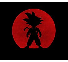 Shadow of Saiyan Photographic Print
