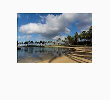 Shadows of Palms - a Lagoon in Waikiki, Honolulu, Hawaii Unisex T-Shirt