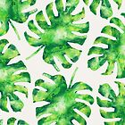 Monstera Leaves by Tracie Andrews
