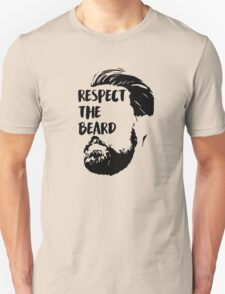 Respect the BEARD! Unisex T-Shirt