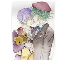 Diabolik Lovers Kanato Azusa More Blood Poster