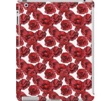 poppy flowers 2 iPad Case/Skin