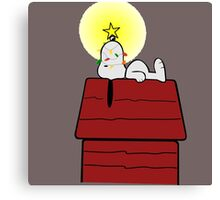 Snoopy Xmas Canvas Print