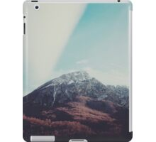 Mountains in the background XIII iPad Case/Skin