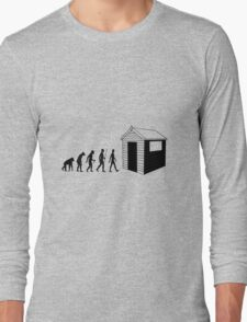 The Evolution Of Dad Long Sleeve T-Shirt