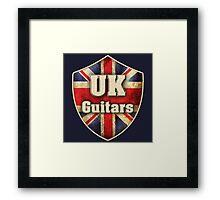UK Guitars  Framed Print