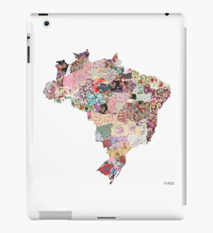 Brazil map iPad Case/Skin