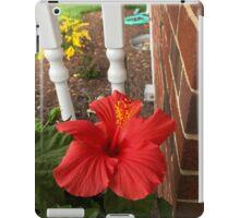 Red Hot Hibiscus  iPad Case/Skin