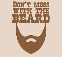 Don't mess with the beard Womens Fitted T-Shirt