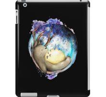 totoro sleeping iPad Case/Skin