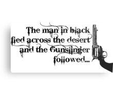 Dark Tower- Gunslinger Metal Print
