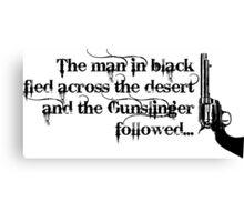 Dark Tower- Gunslinger Canvas Print