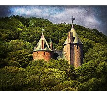 Castell Coch Rising Above The Forest Photographic Print
