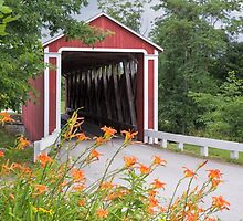 Stock-Heughter Covered Bridge by Kenneth Keifer