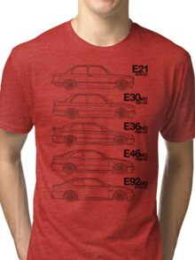 3 Series T-Shirt Why have 1 BMW when you can have 5? Tri-blend T-Shirt