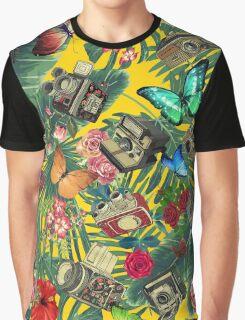 tropic yellow  Graphic T-Shirt