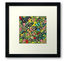 tropic yellow  Framed Print
