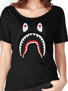 APE SHARK Women's Relaxed Fit T-Shirt