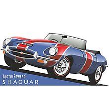Austin Powers' E-Type Jaguar 'Shaguar' Photographic Print