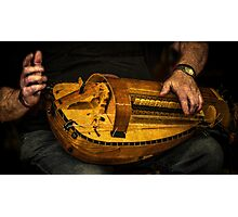 The Hurdy Gurdy Player Photographic Print