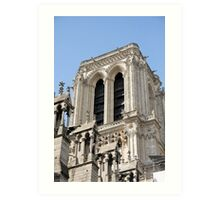 Notre Dame Tower Art Print