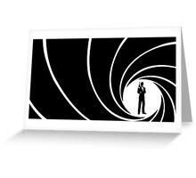 007 Greeting Card