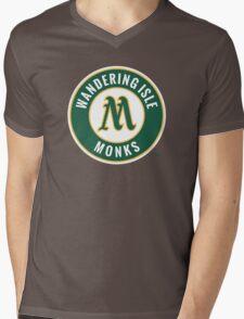 Monks - WoW Baseball  Mens V-Neck T-Shirt