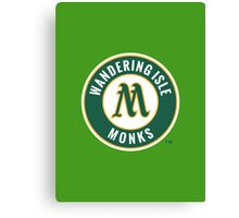 Monks - WoW Baseball  Canvas Print