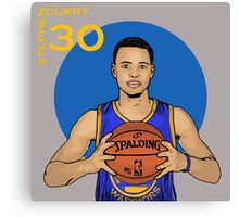 Stephen Curry 30  Canvas Print