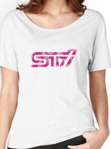 'Subaru STI Logo' for Subaru Fans Women's Relaxed Fit T-Shirt