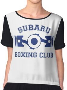 Subaru Boxing Club Chiffon Top
