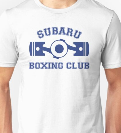 Subaru Boxing Club Unisex T-Shirt