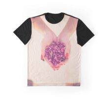 woman carrying flowers Graphic T-Shirt