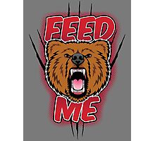 NEW- FEED ME! Photographic Print