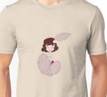Retro glamor girl princess Unisex T-Shirt
