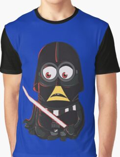 Minion|Minions|Darth Vader Graphic T-Shirt