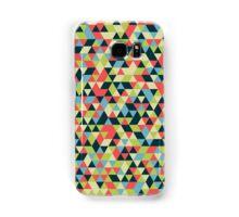 Multi Colored Triangle Pattern Samsung Galaxy Case/Skin