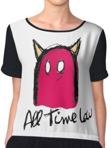 All Time Low Monster Chiffon Top