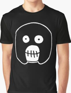 The Mighty Boosh – Black Mask Graphic T-Shirt