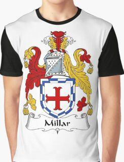Millar Coat of Arms / Millar Family Crest Graphic T-Shirt