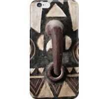 Bobo Bwa Hawk Mask Portrait iPhone Case/Skin