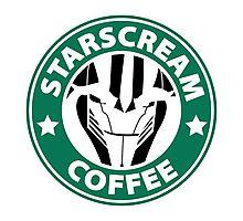 Starscream Coffee Photographic Print