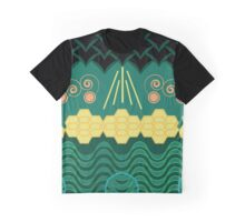 HARMONY pattern Graphic T-Shirt
