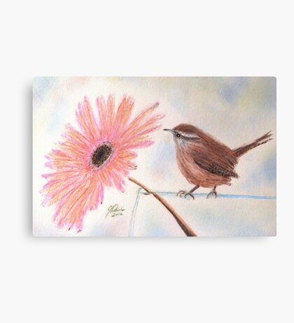 Stopping By To Say Hello Canvas Print
